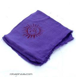 Pañuelos Fulares y Pareos - Pañuelo Hare Rama Grande [FUKA01] para comprar al por mayor o detalle  en la categoría de Complementos Hippies Alternativos.