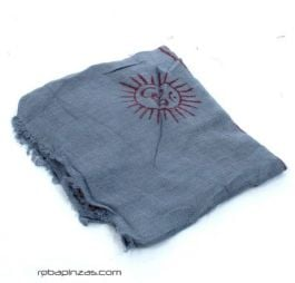 Pañuelos Fulares y Pareos - Pañuelo Hare Rama Mediano [FUKA02] para comprar al por mayor o detalle  en la categoría de Complementos Hippies Alternativos.
