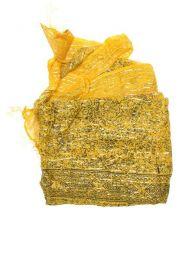 Foulard viscosa, cuadrado, Mod Amarillo