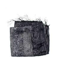 Foulard viscosa, cuadrado, Mod Negro
