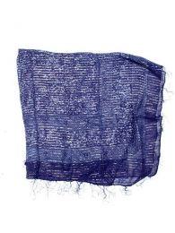 Foulard viscosa, cuadrado, Mod Azul os