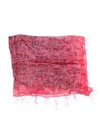 Foulard viscosa, cuadrado, Mod Rosa