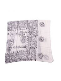 Hare Rama 220 * 100 FUKA09 scarf to buy in bulk or in detail in the Alternative Hippie Accessories category.