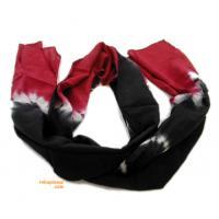 Foulard de rayón, largo, tye dye FULC2 para comprar al por mayor o detalle  en la categoría de Complementos Hippies Alternativos.