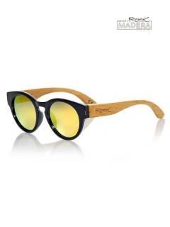 Hölzerne Sonnenbrille GUM BLACK MX GFJA12 zum Kauf im Großhandel oder Detail in der Kategorie Bohemian Hippie Fashion Accessoires | ZAS.