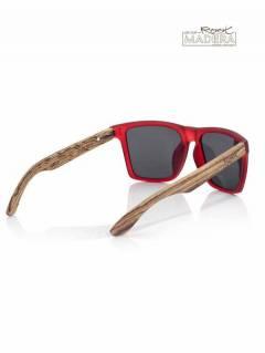 Gafas de Sol de Madera Root - Gafas de sol con patillas GFJA50.