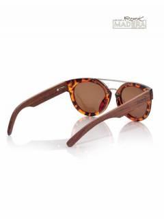 Gafas de Sol de Madera Root - Gafas de sol con patillas GFJA53.