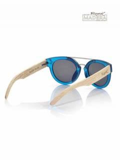 Gafas de Sol de Madera Root - Gafas de sol con patillas GFJA57.