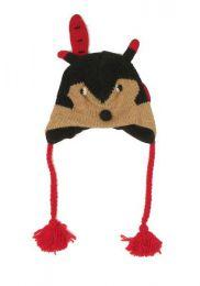 Gorros de lana hechos a mano Mod Zorro
