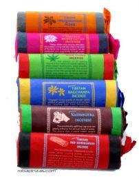 Incienso tibetano natural detalle del producto