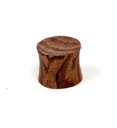 Plugs Madera Cuerno Hueso - plug dilatador de madera de coco, tallas chicas, precio unidad [PIPUM16A] para comprar al por mayor o detalle  en la categoría de Piercing Dilatadores Cuerno y Hueso.