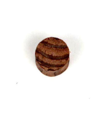 Plugs Madera Cuerno Hueso - Plug dilatador de madera de coco, tallas grandes, precio unidad [PIPUM16B] para comprar al por mayor o detalle  en la categoría de Piercing Dilatadores Cuerno y Hueso.