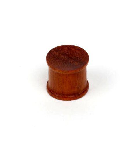 Plugs Madera Cuerno Hueso - Plug tallado en madera, tallas:grandes precio unidad PIPUM2B para comprar al por Mayor o Detalle en la categoría de Piercing Dilatadores Cuerno y Hueso