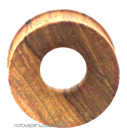 Plug tallado en madera. Tallas 25 mm. Precio unidad Comprar - Venta Mayorista y detalle