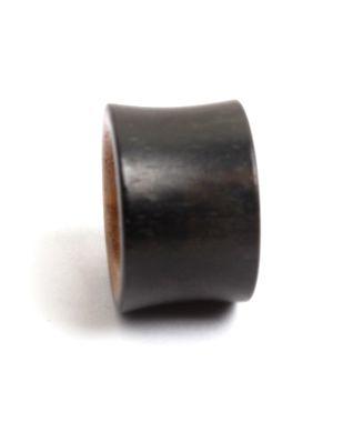 Plug tunel medidas de 14 a 22mm, mezcla de madera negra y coco, precio unidad - detalle Comprar al mayor o detalle