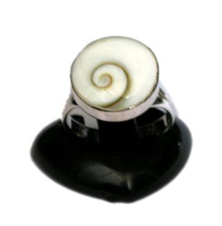 Anillo de plata, ojo de shiva engarzado, tamaño pequeño [PLANOJ2] para comprar al por Mayor o Detalle en la categoría de Ojo de Shiva - Plata