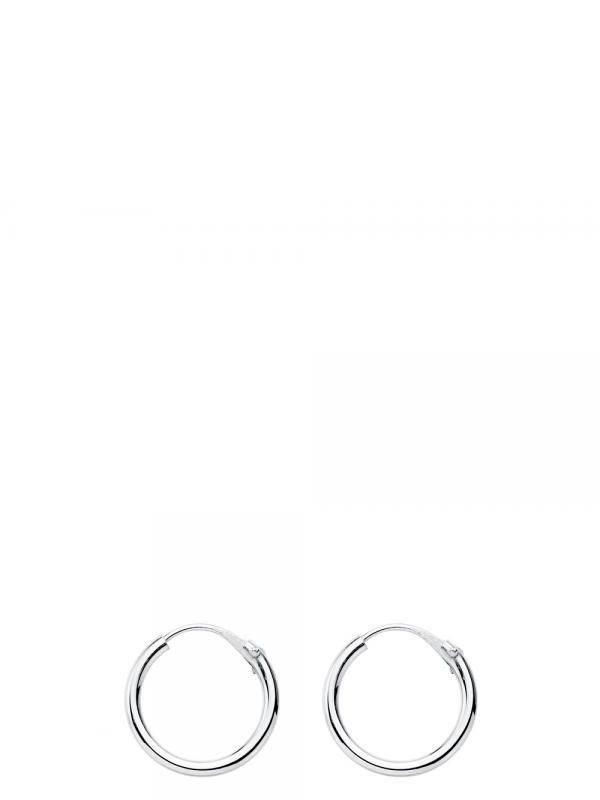 Aros plata de ley 12mm [PLAR12] para comprar al por Mayor o Detalle en la categoría de Aros y Pendientes Plata