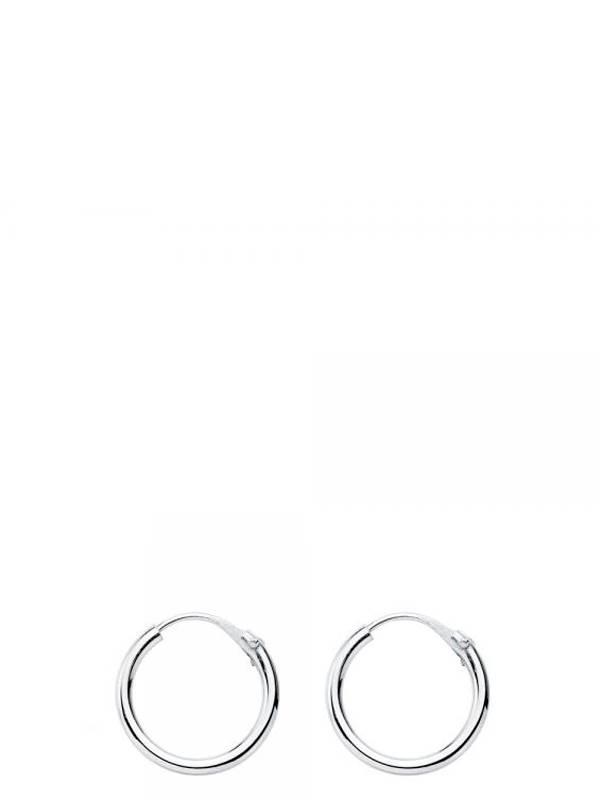 Aros y Pendientes Plata - Aros plata de ley 13mm PLAR13 para comprar al por Mayor o Detalle en la categoría de Bisutería Hippie Étnica Alternativa