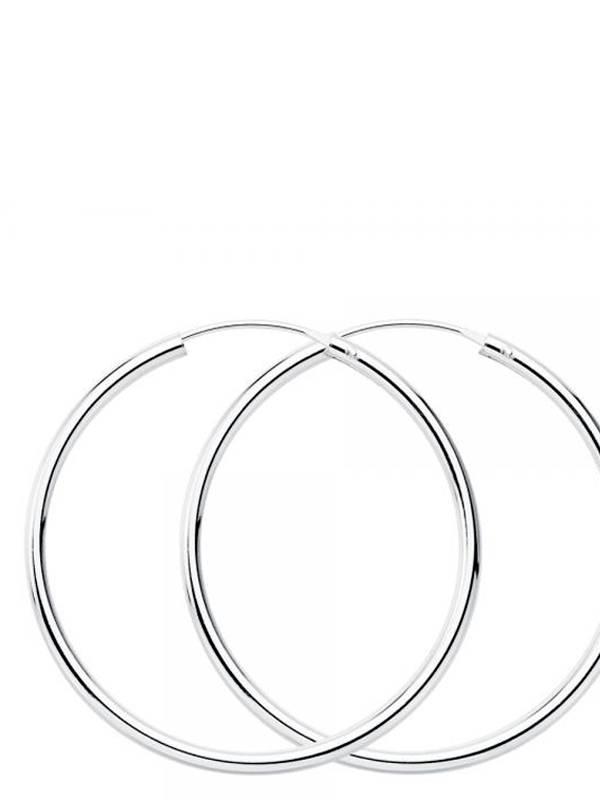 Aros y Pendientes Plata - Aros plata de ley 50mm PLAR50 para comprar al por Mayor o Detalle en la categoría de Bisutería Hippie Étnica Alternativa