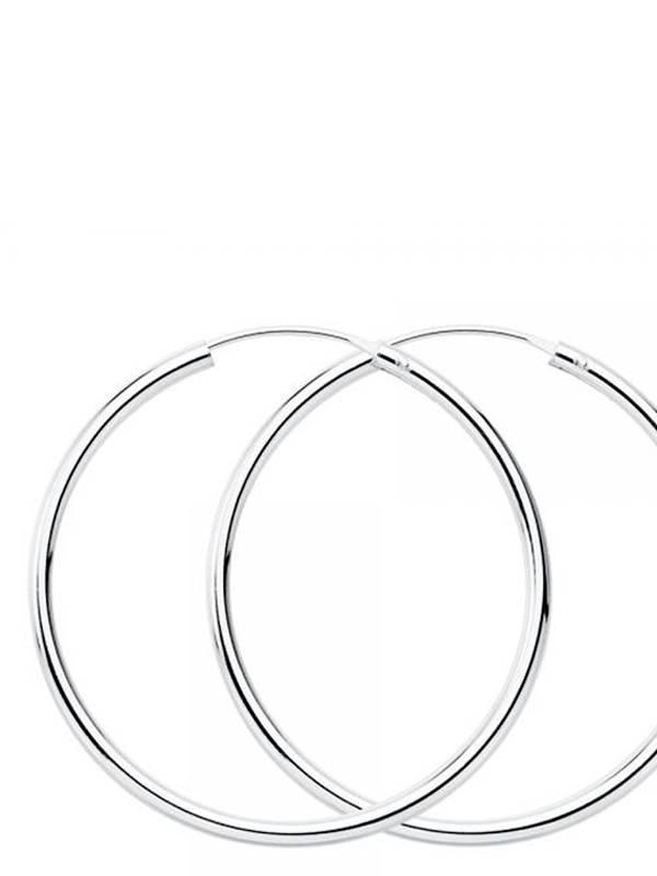 Aros plata de ley 55mm [PLAR55] para comprar al por Mayor o Detalle en la categoría de Aros y Pendientes Plata