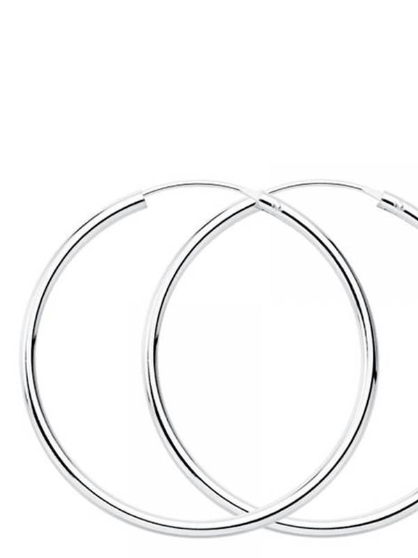 Aros plata de ley 65mm [PLAR65] para comprar al por Mayor o Detalle en la categoría de Aros y Pendientes Plata