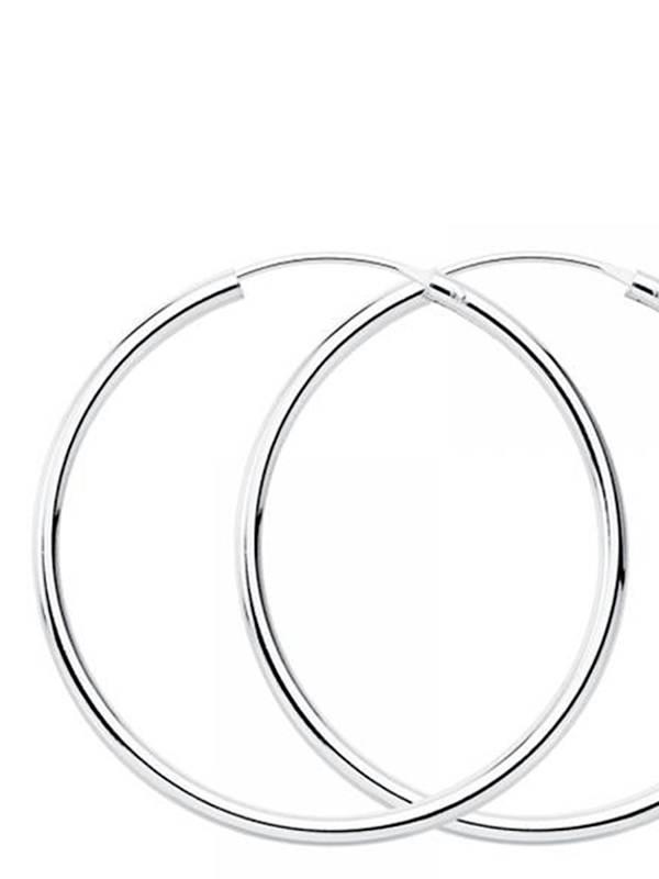 Aros plata de ley 75mm [PLAR75] para comprar al por Mayor o Detalle en la categoría de Aros y Pendientes Plata