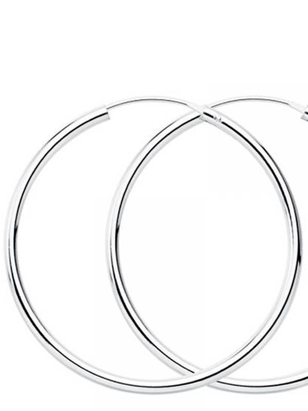 Aros y Pendientes Plata - Aros plata de ley 90mm PLAR90 para comprar al por Mayor o Detalle en la categoría de Bisutería Hippie Étnica Alternativa