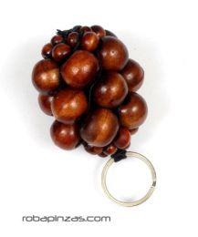 Laavero racimos de bolas de madera de colores,  para comprar al por mayor o detalle  en la categoría de Accesorios de Moda Hippie Bohemia | ZAS. [LLBOU01]