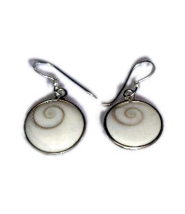 Pendientes Plata,ojo de shiva peuqeños [PLPEOJ1] para comprar al por Mayor o Detalle en la categoría de Ojo de Shiva - Plata