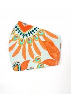 Blumenstoffmaske, um Großhandel oder Detail in der Kategorie Böhmische Hippie-Modeaccessoires | zu kaufen ZAS. [MAPO01-B]