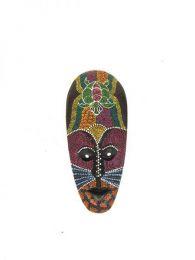 Máscara étnica Mod Tortuga