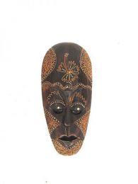 Stammes ethnische Maske 25cm, um Großhandel oder Detail in der Kategorie Bohemian Hippie Fashion Accessoires zu kaufen | ZAS. [MASB13]