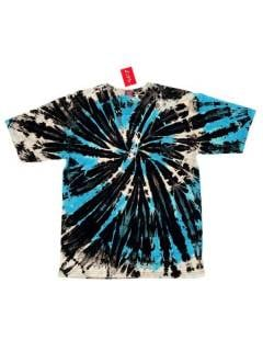 Tie Dye Spiral hippie shirt, to buy wholesale or detail in the category of Hippie and Alternative Clothing for Men | ZAS Hippie Store. [CMMF03]