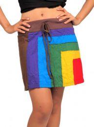 minifalda hippie algodón detalle del producto