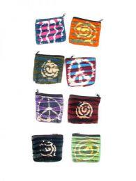 Monedero de algodón rasgado Tie Dye para comprar al por mayor o detalle  en la categoría de Accesorios de Moda Hippie Bohemia | ZAS  [MOHC01] .