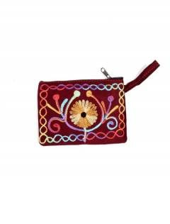 Tibet peach skin embroidered purse MOKA01 to buy wholesale or detail in the Alternative Hippie Accessories category.