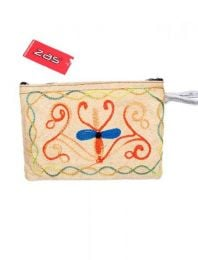 Large size embroidered tibet purse MOKA02 to buy in bulk or in detail in the Alternative Ethnic Hippie Costume category.