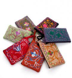 Monedero tibet bordado tamaño grande MOKA02 para comprar al por mayor o detalle  en la categoría de Ropa Hippie Alternativa para Mujer.