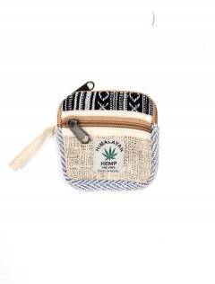 Hemp Backpacks and Waist Bags - Hemp and cotton purse [MOKA14] to buy wholesale or retail in the Alternative Hippie Accessories category.