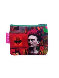 Large Frida Kahlo Print Purse, to buy wholesale or detail in the Bohemian Hippie Fashion Accessories category | ZAS. [MOSMPO]