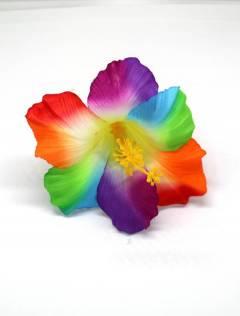 Cintas pelo / Máscaras - Flores pinza de tela, flores ORFLT - Modelo M203