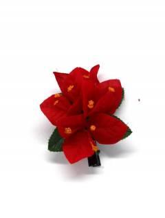 Flores com clipe de tecido, para comprar no atacado ou detalhe na categoria de Acessórios de Moda Hippie Bohemian | ZAS. [ORFLT]