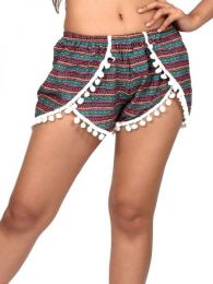 Pantalón hippie corto detalle del producto