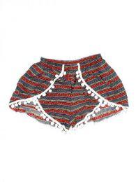 Pantalón hippie corto Mod Azul roy