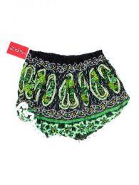 Pantalón hippie corto Mod Verde