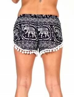 Pantalones Cortos Verano - Pantalón hippie corto PAET05.