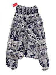 Pantalón hippie ancho Mod Azul