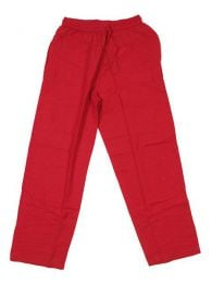 Pantalón 100% algodón Mod Rojo