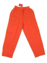 Pantalón 100% algodón Mod Naranja