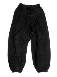 Pantalón de algodón Mod Negro